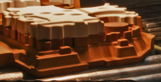 an example Sand Casting Core Assembly from Le Sueur Inc.
