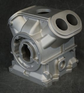 a Permanent Mold Aluminum Casting TK 4 Cylinder from le Sueur Inc